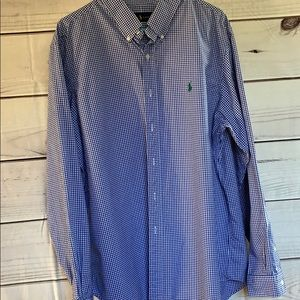 Ralph Lauren button up dress shirt